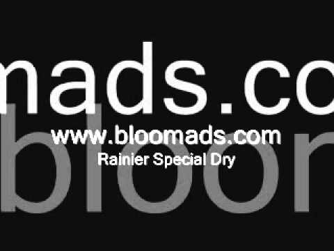 Bloom Ads - Rainier Special Dry