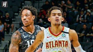 Atlanta Hawks vs San Antonio Spurs - Full Game Highlights | January 17, 2020 | 2019-20 NBA Season