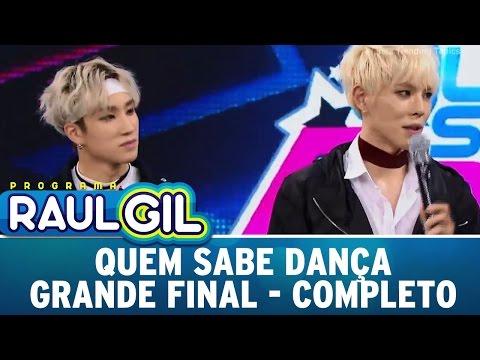 Programa Raul Gil (17/12/16) - Grande final do concurso Quem Sabe Dança