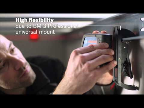 Bosch GLL2-15 PROF + BM3 Professional Line Laser