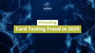 Card Testing Fraud