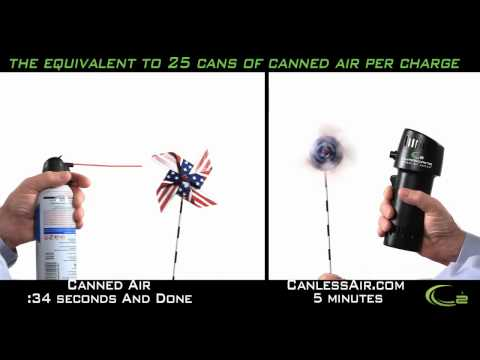 Canless Air vs Canned Air