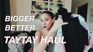 BIGGER & BETTER TAYTAY HAUL - CHRISTIANA COLLINGS