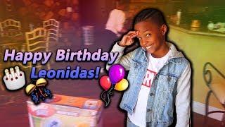 I Gave Leonidas $9000 For His 9th Birthday!