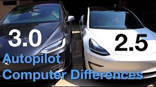 Autopilot Computer 2.5 vs 3.0 Test