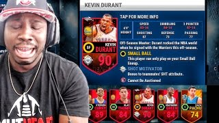 NEW DURANT ON WARRIORS! NBA Live Mobile 16 Gameplay - QJB PULLING ELITES! Ep. 11