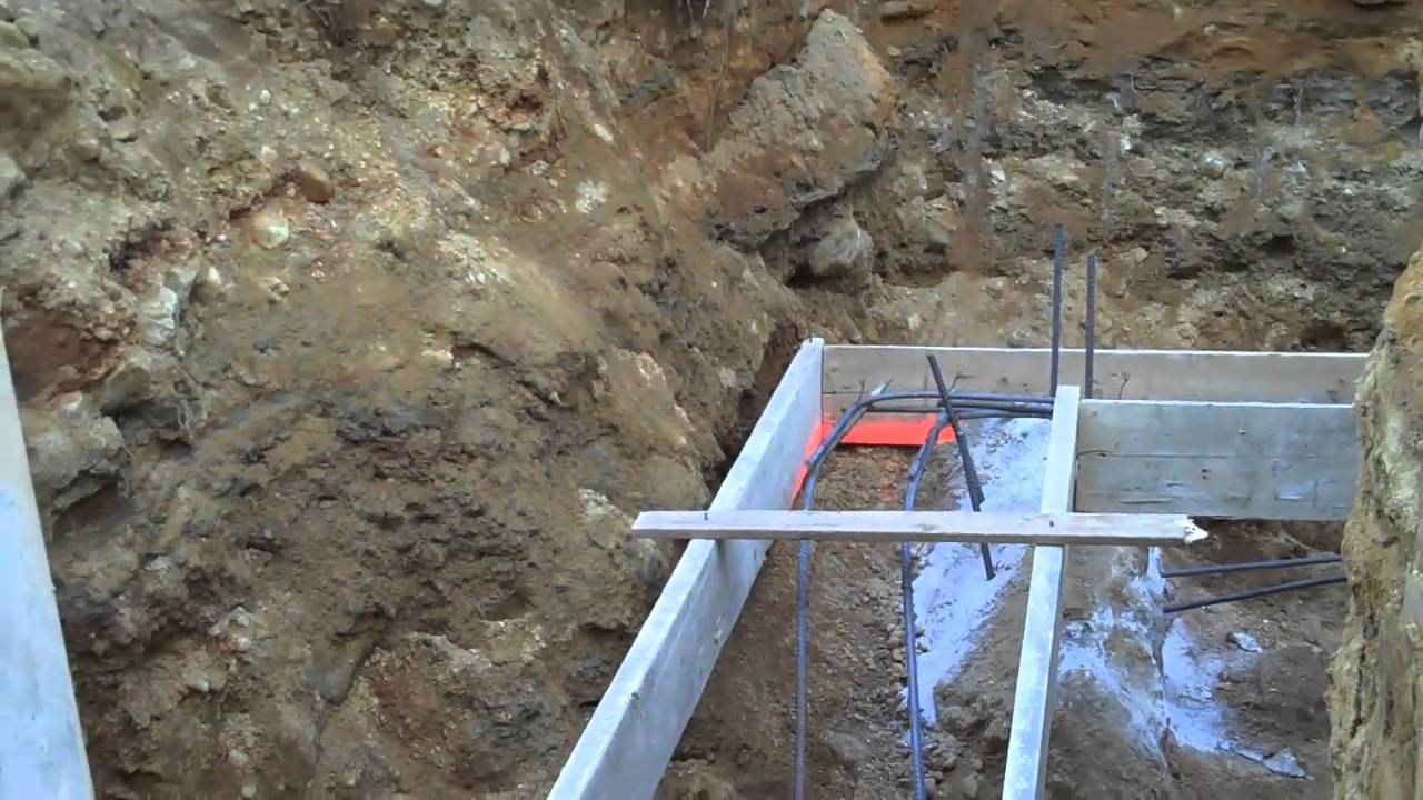 Concrete Footer Part 1 Youtube
