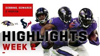 Ravens Running Backs Are a Triple Threat! | NFL 2020 Highlights
