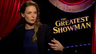 Actor Rebecca Ferguson Explains How She Brings Life to an Opera Star in Greatest Showman