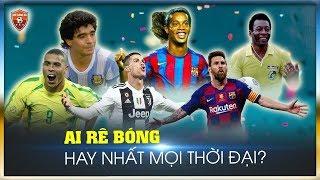 TOP 10 cầu thủ rê bóng HAY NHẤT LỊCH SỬ bóng đá thế giới QUA MỌI THỜI ĐẠI