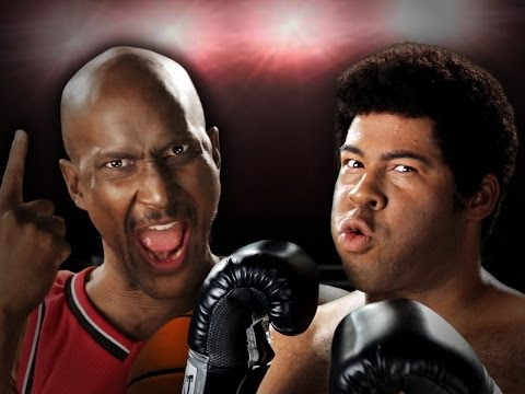 Michael Jordan Vs Muhammad Ali.  Epic Rap Battles Of History Season 3. - Smashpipe Entertainment Video