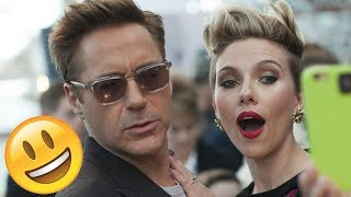 Avengers Infinity War Cast - 😊😅😊 ULTIMATE FUNNY AND HILARIOUS MOMENTS - TRY NOT TO LAUGH 2018