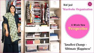 Indian Wardrobe Organization Tips / A Whole New Perspective / Closet Organization Ideas