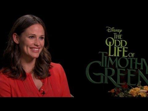 'The Odd Life of Timothy Green' Jennifer Garner Interview