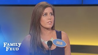 Here's what HUSBANDS WISH their WIVES WOULD GET RID OF! | Family Feud
