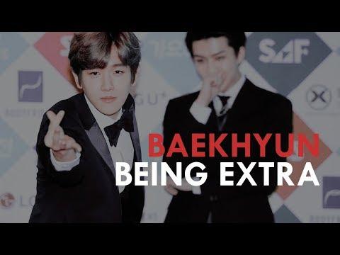BAEKHYUN being EXTRA