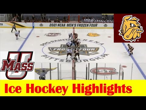 Minnesota Duluth vs UMass Ice Hockey Game Highlights, 2021 NCAA Frozen Four