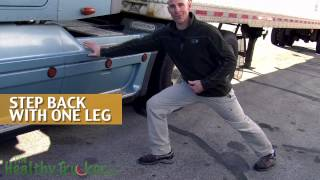 Avoid Truck Driver Chronic Lower Back Pain with Lunges