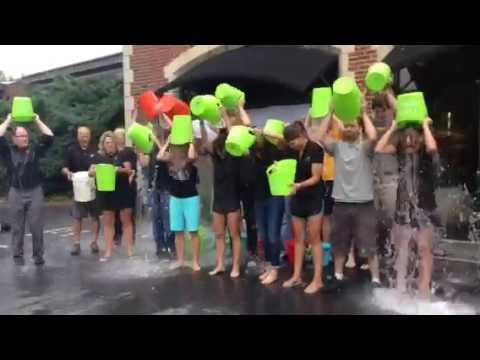 Team ANTHONY WILDER does 2014 Ice Bucket Challenge