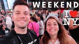 Our first weekend in New York vlog - Joel and Lia 🇺🇸