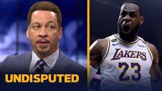 LeBron has a legitimate shot of winning the MVP title — Chris Broussard   NBA   UNDISPUTED