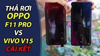 Thả rơi OPPO F11 Pro vs Vivo V15: Camera nào thụt lại được?