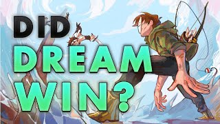 Did Dream Win Speedrunner VS 4 Hunters? | An analysis of Dream's Manhunt