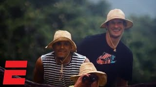 Boban Marjanović searches for dinosaurs with Tobias Harris in Hawai'i   Hang Time with Sam Alipour