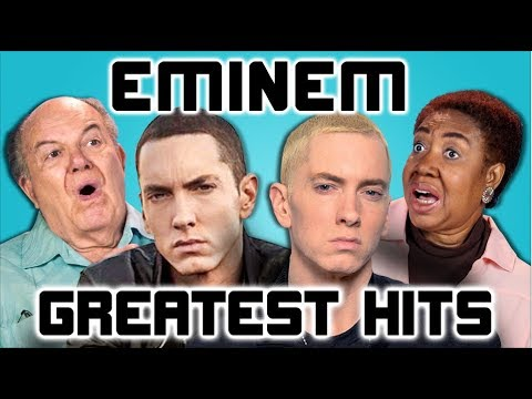 ELDERS READ EMINEM'S HIT SONGS (React)