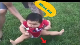 Kids React To Grass For The First Time And It's The Funniest Thing Ever !!