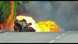 Road Racing : Guy Martin Crash TT 2010