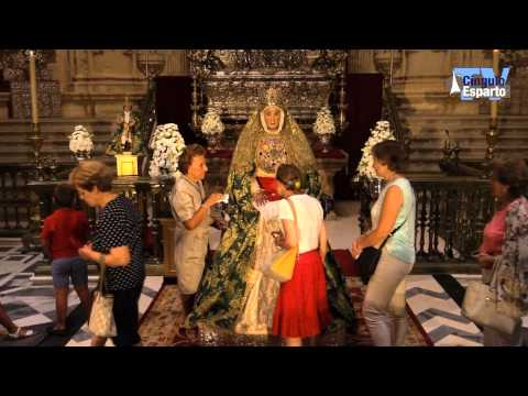 Besamanos de la Virgen de los Reyes 2015
