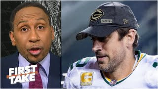 'He's Aaron freaking Rodgers' and the Packers mistreat him! - Stephen A. is fed up | First Take
