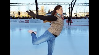 Nancy Kerrigan opens MGM Springfield skating rink