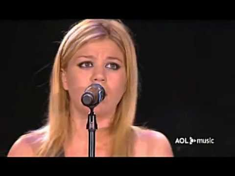 Kelly Clarkson - Why (AOL Music Live)