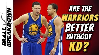 Are Steph Curry And Klay Thompson Better Without Durant?