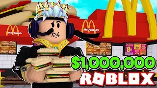 BUILDING MY OWN $1,000,000 FAST FOOD PLACE! - Fast Food Simulator