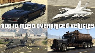 GTA Online Top 10 Most Overpriced Vehicles Excluding Luxor And Swift Deluxe