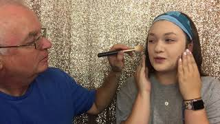 My Dad does my Makeup!!