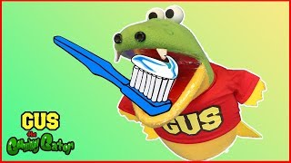Pretend Play Toys Gus Learns Brushing Teeth