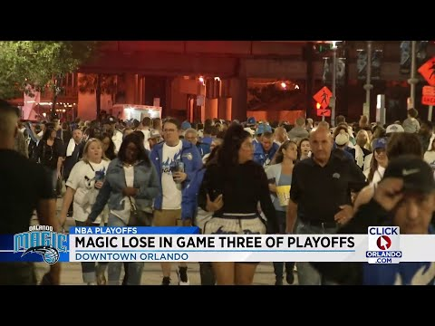Fans react to Orlando's loss against the Raptors