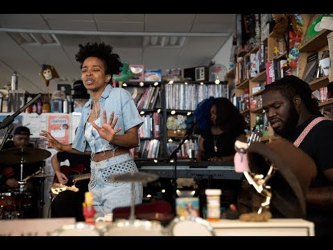 Jamila Woods: NPR Music Tiny Desk Concert