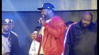 50 Cent Performing Power Theme Song In Clubs Now 😂