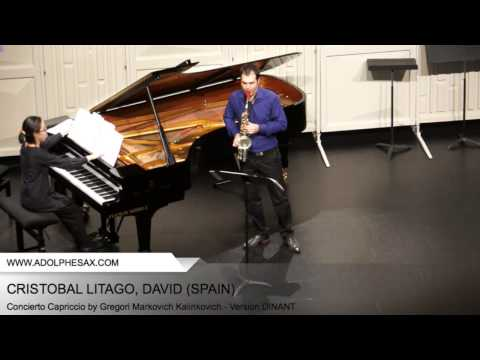 CRISTOBAL LITAGO, David (Concierto Capriccio by Gregori Markovich Kalinkovich - v. DINANT)