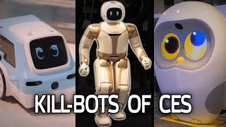 Hunting for KILLER ROBOTS at CES 2019!