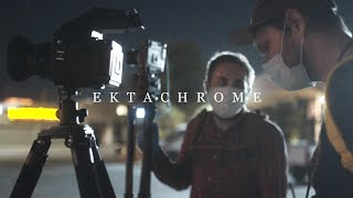 Shooting Ektachrome E100 at Night