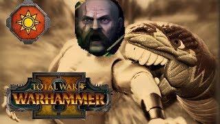 Lizardmen vs Empire  | VOLKSWAGON ENTERS JURASSIC PARK - Total War Warhammer 2