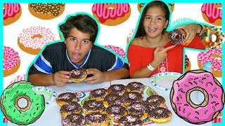 DON'T EAT THE WRONG DONUT CHALLENGE