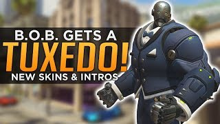 Overwatch: Bob Gets a Tuxedo! - NEW Archives Legendary Skins, Sprays & Highlight Intros