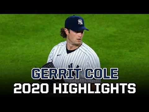 Gerrit Cole   2020 Yankees Highlights
